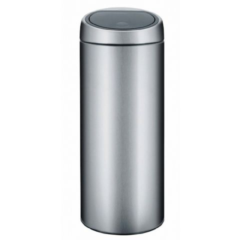 Brabantia 30 Litre Matt Steel One Touch Bin